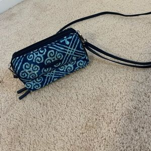 vera bradley cross body wallet